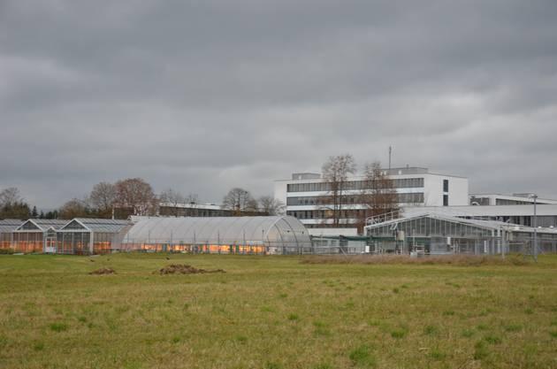Das Institut von Agroscope liegt nur ein kurzer Fussmarsch von der Protected Site entfernt.