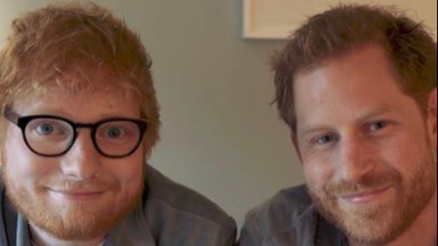 Comedy-Duo Ed Sheeran und Prinz Harry