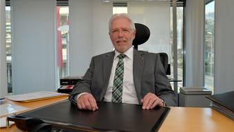 Tony Broghammer, Präsident des Rotary Club Grenchen und Leiter der Raiffeisenbank Wandflue, Grenchen.