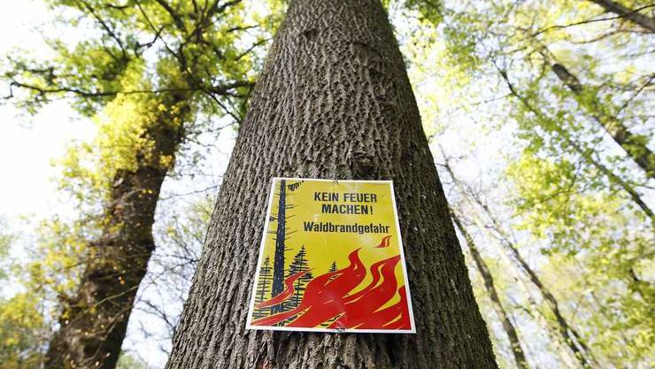 Im Baselbiet herrscht grosse Waldbrandgefahr. (Symbolbild)