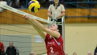 Kerley Becker ist eine der Ältesten im jungen und ambitionierten Team von Sm'Aesch Pfeffingen.