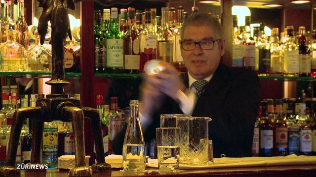 Zürcher Barkeeper-Legende tritt ab