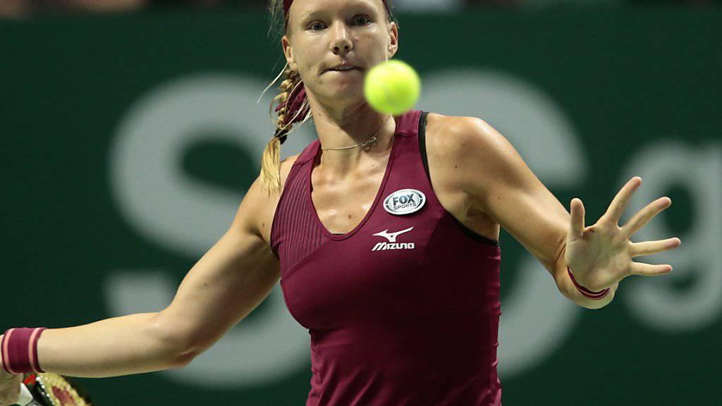Schafft an den WTA Finals den Sprung in die Halbfinals: Kiki Bertens