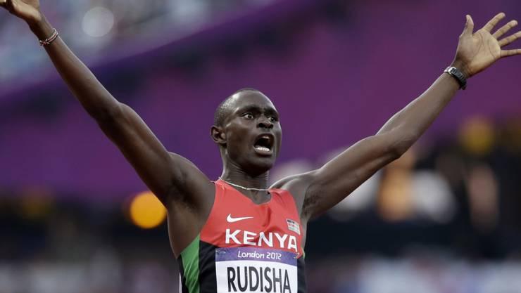 Will im nächsten Sommer in Tokio seine dritte Olympia-Goldmedaille gewinnen: 800-m-Rekordhalter David Rudisha