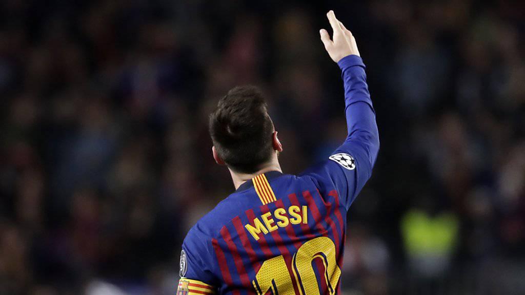 «Wir haben einen grossen Vorteil, aber es ist noch nicht definitiv», sagte Lionel Messi nach dem Hinspiel gegen Liverpool