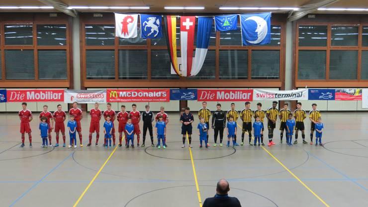 2016 die Finalisten B-Junioren   BSC Old Boys Basel und der FC Memmingen aus dem Allgäu. Der FC Memmingen wurde 2016 Turniersieger