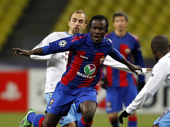 Seydou Doumbia spielte fünfeinhalb Saisons in Moskau.