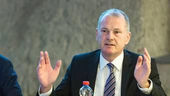 Stephan Attiger, Gesundheitsdirektor ad interim.