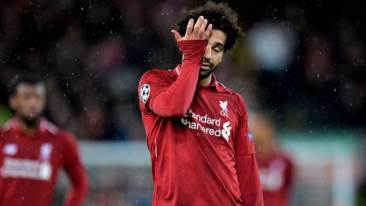 Mohamed Salah und der FC Liverpool kamen für einmal nicht auf Touren