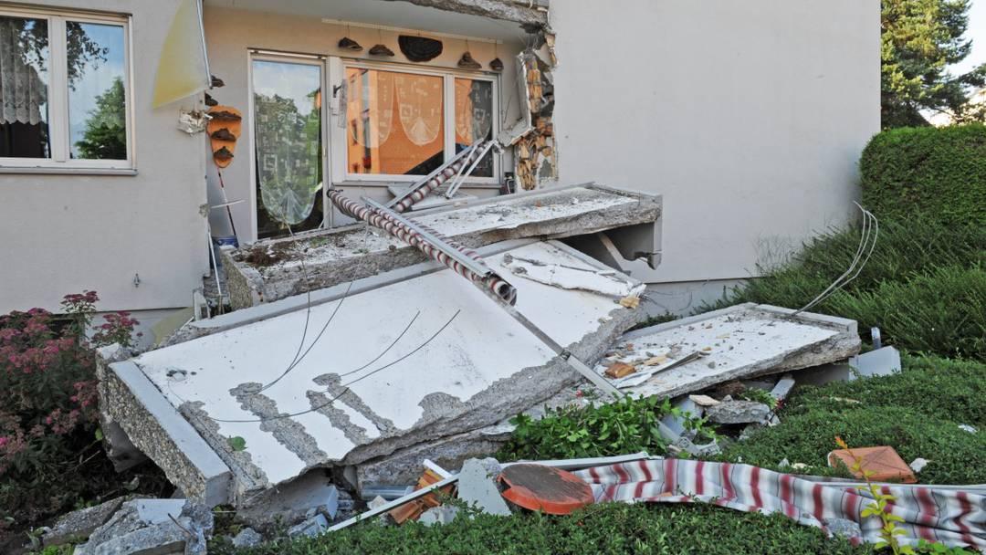 Balkone in Rapperswil stürzen ein