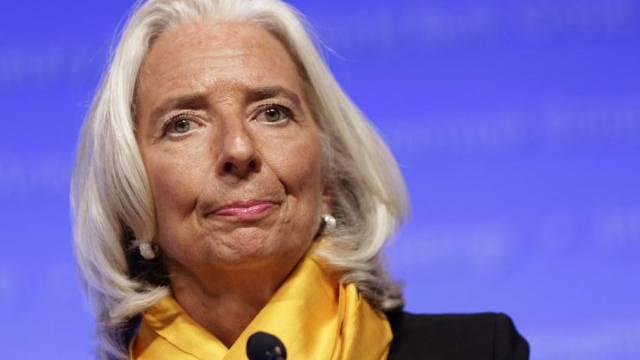 """""""Tief enttäuscht"""": IWF-Chefin Christine Lagarde (Archiv)"""