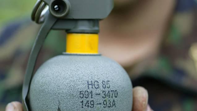 Auch Übungs-Handgranaten sind der Schweizer Armee abhanden gekommen. (Symbolbild, Archiv)