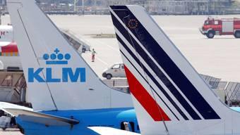 Air France und die niederländische Airline KLM haben sich 2004 zusammengeschlossen. (Archivbild)