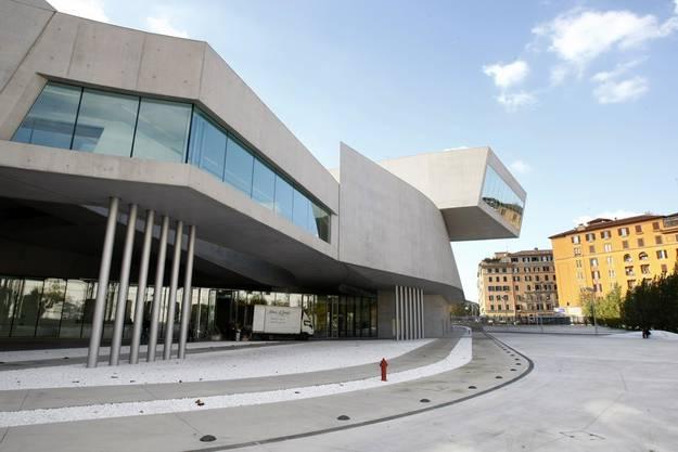 Das Museum für zeitgenössische Kunst in Rom von Zaha Hadid.