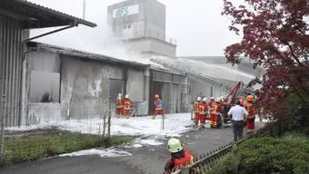 Holz-Werkstatt in Rupperswil ausgebrannt