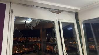 In dieser Wohnung kam es zur Explosion.