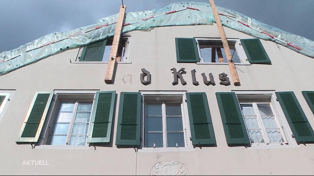 Brandruine Restaurant Bad Klus: Wie weiter?