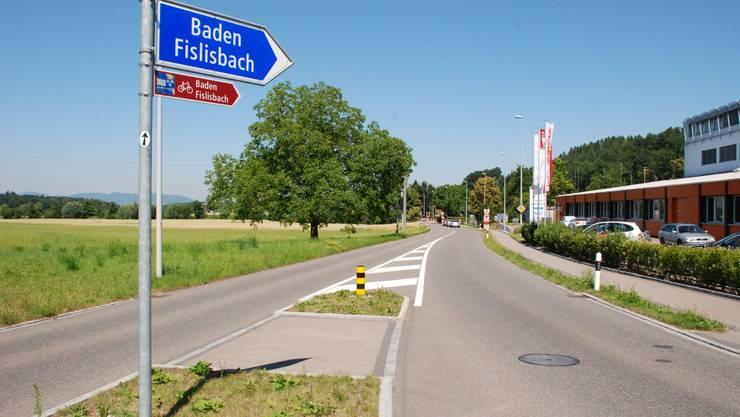 Wann mit dem Bau des Radwegs in Richtung Fislisbach begonnen wird, steht noch in den Sternen.  elj