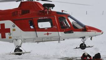 Ein Rega-Helikopter (Symbolbild)