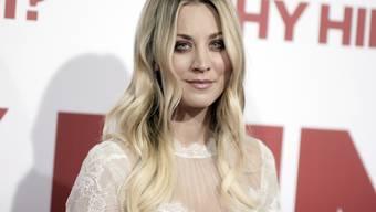 """Wird bald in einer Thriller-Mini-TV-Serie zu sehen sein: US-Schauspielerin Kaley Cuoco (""""Big Bang Theory""""). (Archivbild)"""