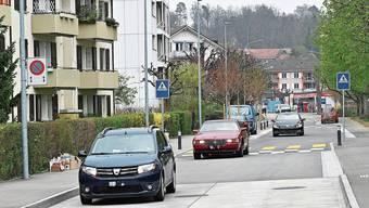 Der Schleichverkehr durch das Säliquartier soll mit den getroffenen Massnahmen stark abnehmen (im Bild die Gartenstrasse).