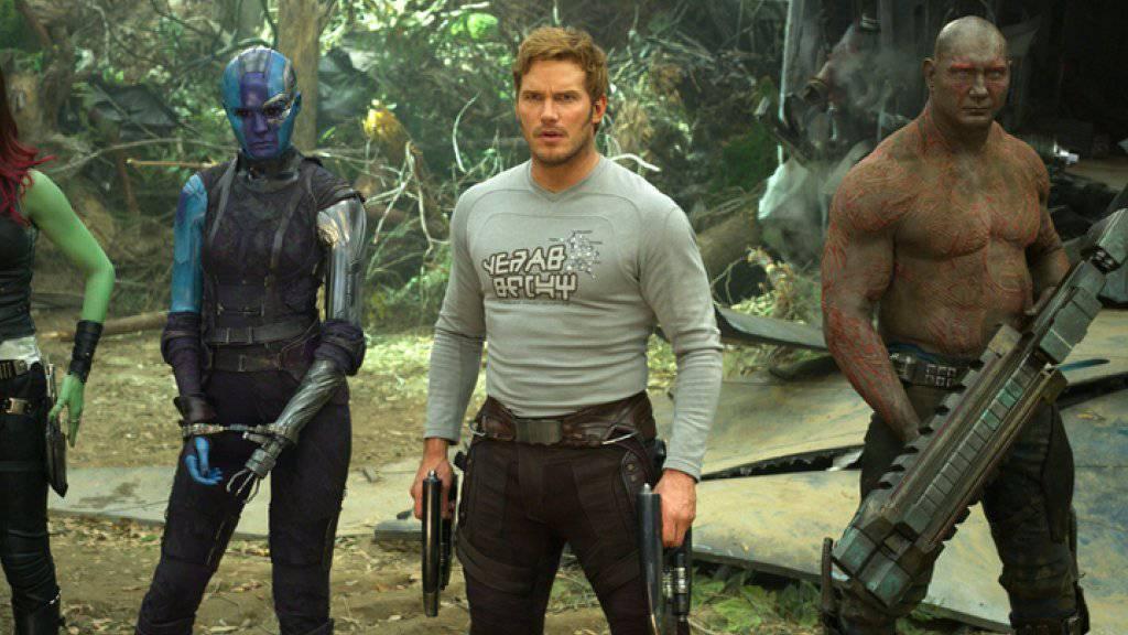 «Guardians Of The Galaxy Vol. 2.» hat sich am Wochenende vom 5. bis 8. Mai 2017 an die Spitze der US-Kinocharts gesetzt. (Archiv)