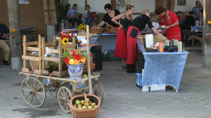 Zum 22. Mal laden elf Aargauer Bauernfamilien zum 1.-August-Brunch.