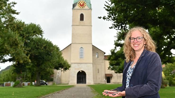 Antje Kirchhofer wurde am 11. August in der Stiftskirche in Schönenwerd begrüsst.