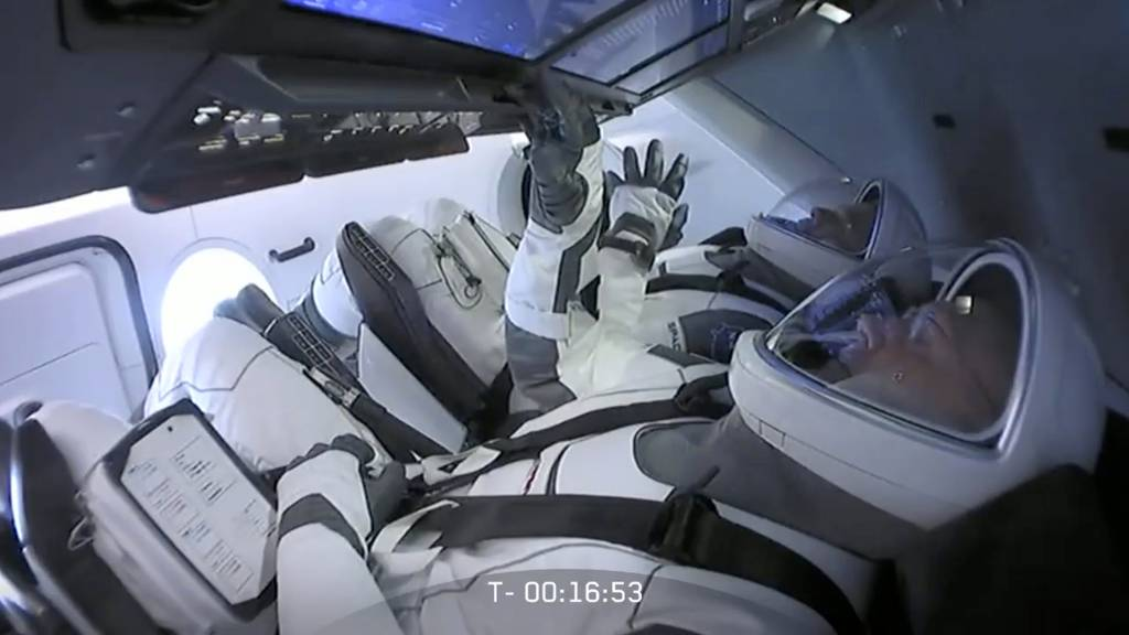 Schlechtes Wetter: Start von «Crew Dragon» zur ISS verschoben