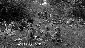 Banntag in Liestal 1917.