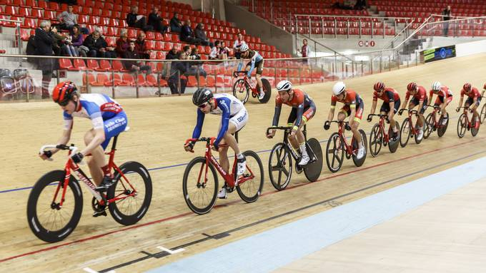 Schweizer Meisterschaft Omnium im Velodrome Suisse vom 14.Februar 2019