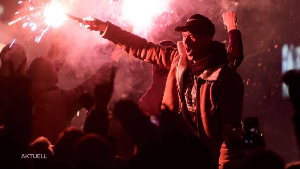 YB-Meisterfeier: Fassnacht zündet Pyro an