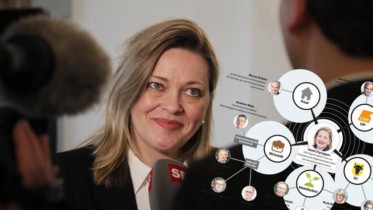 Heidi Z'graggen hat ein grosses Beziehungsnetz.