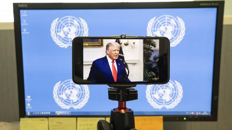 Die UN-Generaldebatte wurde wegen der anhaltenden Coronavirus-Pandemie vorwiegend virtuell abgehalten.