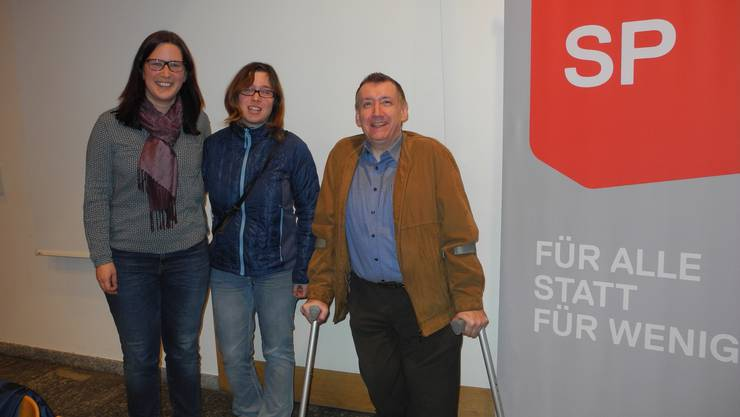 Die neuen Vortstandsmitglieder Daniel Hirt und Martina Zimmermann mit Präsidentin Angela Kummer (von rechts)