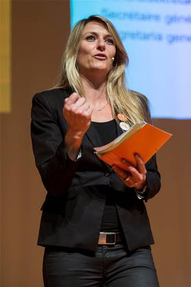 Béatrice Wertli ist als CVP-Generalsekretärin abgetreten.