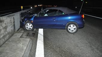 Der Lenker verlor aus unbekannten Gründen die Kontrolle über sein Auto.