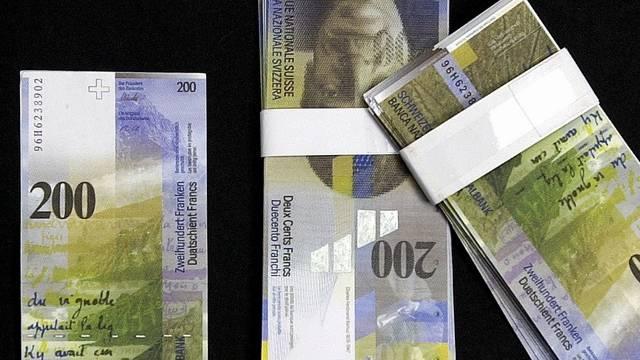 Beschlagnahmtes Falschgeld (Symbolbild)