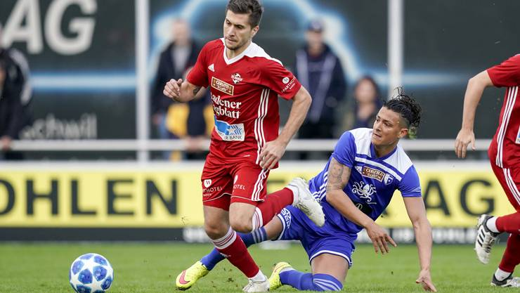 Der FC Baden und der FC Wohlen messen sich am Samstag im Derby.