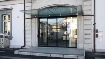 Hauptbahnhof: Vollendete Tatsachen – die Postfiliale Solothurn 1 ist geschlossen.