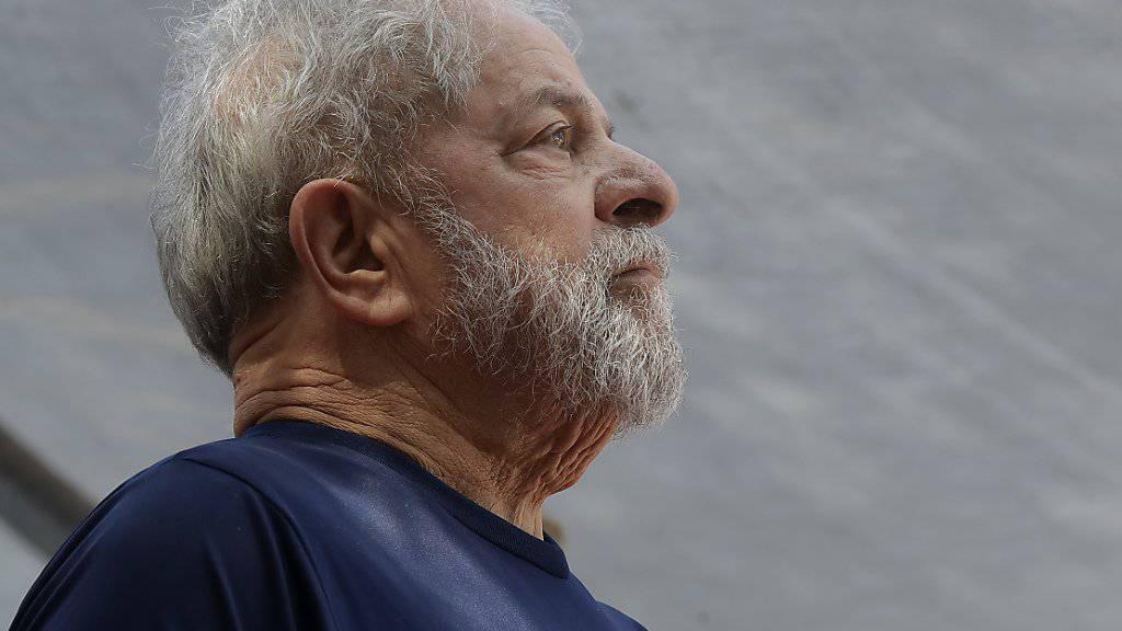 Darf nicht erneut für das Präsidentenamt in Brasilien kandideren: der inhaftierte Ex-Staatschef Luiz Inácio Lula da Silva. (Archivbild)