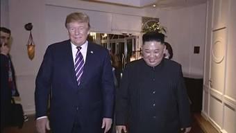 Sollen bis 2020 doch noch einen Abrüstungs-Deal zustande bekommen: US-Präsident Donald Trump und Nordkoreas Machthaber Kim Jong Un. (Archivbild)
