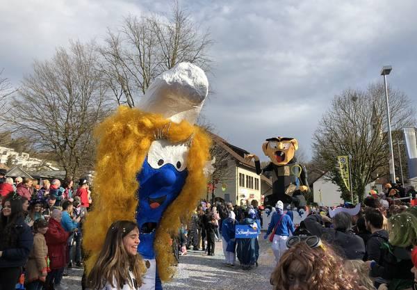 Blau, klein und weiss! Spez Kafi Clique, Würenlingen.