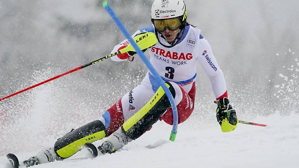 Wendy Holdener Zweite in Soldeu