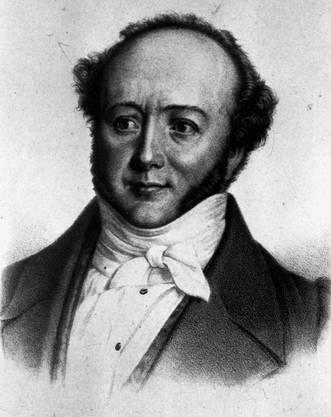 Jeremias Gotthelf (1797–1854) Der Pfarrer und Schriftsteller gehörte zu den Gründungsmitgliedern.