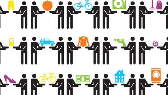 «Sharing Economy»: Vereint im weltweiten Netz des Teilens.