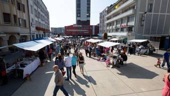 Die Stiftung Schmelzi organisiert einen Flohmarkt. (Archiv)