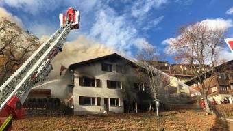 Nach der Auseinandersetzung brach im Haus des Ehepaares ein Brand aus.
