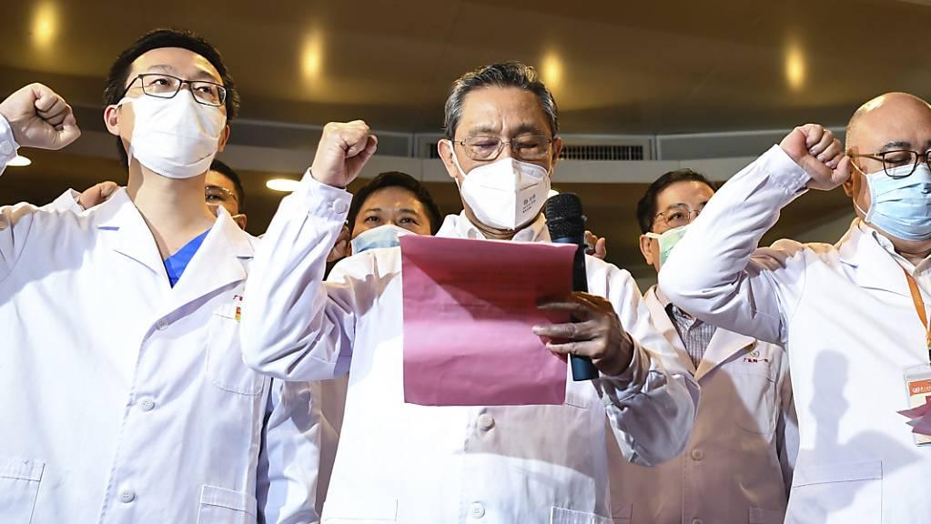 Erfolge: Das kommunistische Regime in Peking meldet den dritten Tag in Folge in China keine Ansteckung im Inland. (Archivbild)