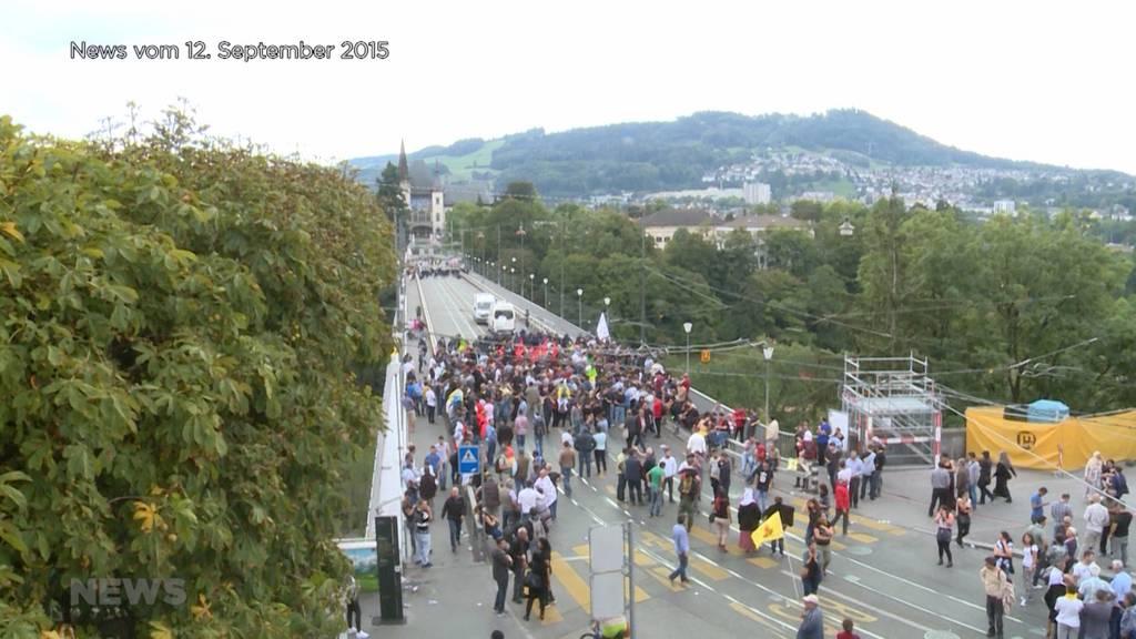 Nach Ausschreitungen an Demo: Angeklagter Beteiligter muss nicht ins Gefängnis